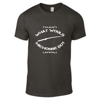 The Walking Dead Inspired Clothing - What Would Michonne Do? Crew Neck - Mens