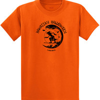 Koloa Surf Co. Surfing Halloween Witch Logo Heavy Cotton T-Shirts