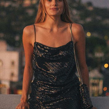 Bardot Emmie Sequin Mini Dress | Urban Outfitters