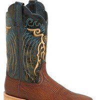 Men's Ariat 'Shallow Water' Sharkskin Embossed Leather Cowboy Boot