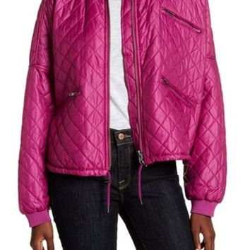Free People | Quilted Bomber Jacket