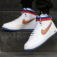 Nike Air Force 1 AF1 High-Top Canvas Basketball Sneakers Shoes