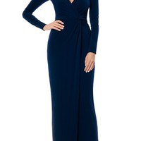 Laundry by Shelli Segal Twist Front Jersey Gown (Nordstrom Exclusive) | Nordstrom