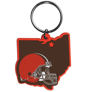 Cleveland Browns Home State Flexi Key Chain FHPK025