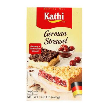 Kathi - German Streusel Mix, Germany, 14.8 oz. (420 g)