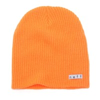 Neff Daily Beanie - Womens Hat - Orange - One