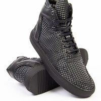 Filling Pieces High Top Transformed Pyramid Black Sneaker