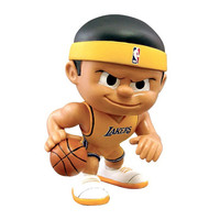 Los Angeles Lakers Official NBA Lil Teammates NBA Playmaker Series 2 Toy Figure by Party Animal Inc.