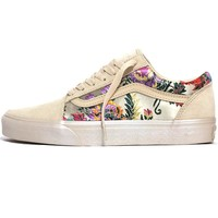 Old Skool Festival Satin Women's Sneakers Gold / Black