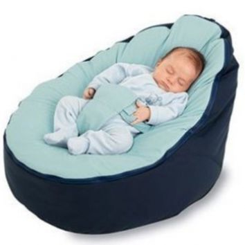 BayB Bean Bag For Infants and Toddlers (Blue/Blue):Amazon:Baby