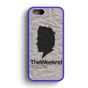 The Weeknd Siluet Two iPhone 5 Case iPhone 5s Case iPhone 5c Case