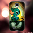 MC812Y,26,lilo and stitch,turtle,swim,stained -Accessories case cellphone- Design for Samsung Galaxy S5 - Black case - Material Soft Rubber