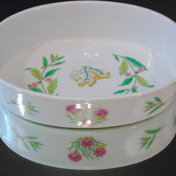 Herbs and Spices Shafford of Japan Porcelain Oven to Table Casserole Bake Dish
