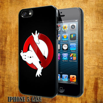 Ghost busters Team Design On Hard Plastic Cover Case, IPhone 4,4S or IPhone 5 Case, Samsung Galaxy S2,S3 or S4 Case