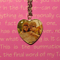 Moonrise Kingdom (Sam & Suzy )  Necklace Charm Pendant