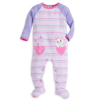 Disney Store Marie Stretchie Sleeper For Baby Girl 12-18M