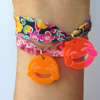 Crying Laughing Emoji Bracelet