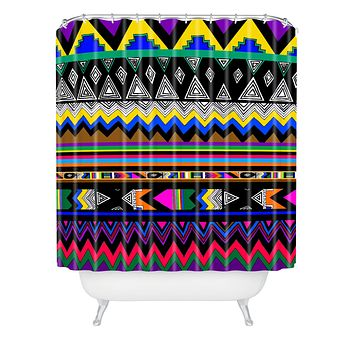 Kris Tate Xecul Shower Curtain