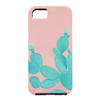 Kangarui Pastel Cactus Cell Phone Case