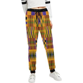 KNETE JOGGING PANTS Women's Custom All Over Print Casual Sweatpants