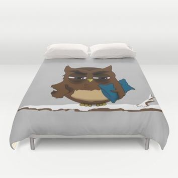 I want to sleep , Now!  Duvet Cover by Xiari