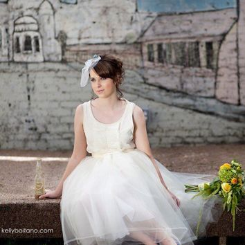 Backyard Garden Wedding Tulle Skirt by TutusChic on Etsy