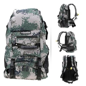 DCK9M2 40L Large Capacity Men Women Backpack Travel Laptop Bag Water Resistant Professional Climbing Bags Travel Sport Hiking