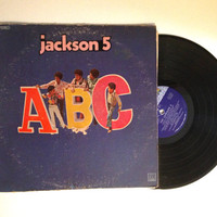 FALL SALE The Jackson 5 ABC Lp Album 1970 Michael Jackson 2-4-6-8 I Found The Girl Vinyl Record