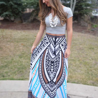 Way the Wind Blows Maxi Skirt