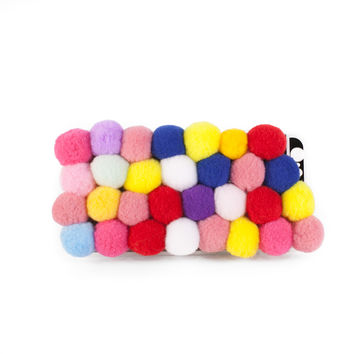 Pom Pom Paradise iPhone Case