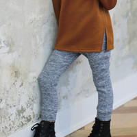 Mixed Knit Leggings