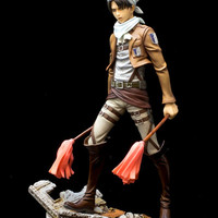 Attack on Titan Levi 1/8 Scale PVC Figure Special Limited Version (Cleaning Version)