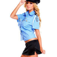 Officer B Hustler Naughty Costume