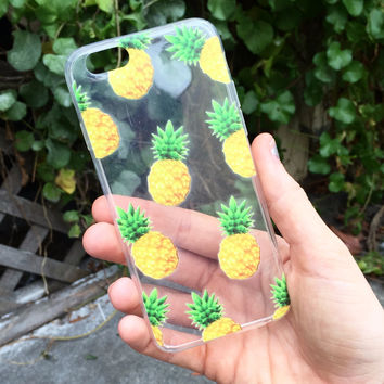 Prickly Pineapple iPhone Case