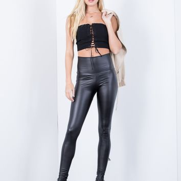 Nightfall Leather Leggings
