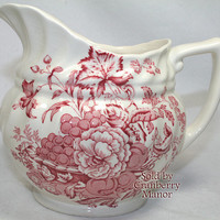 Vintage Royal Doulton The Kirkwood 24oz Pitcher in Red PG198