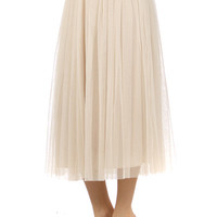 Prima Ballerina Skirt in Cream from BX Couture