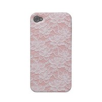 La Dentelle Iphone 4 Covers from Zazzle.com