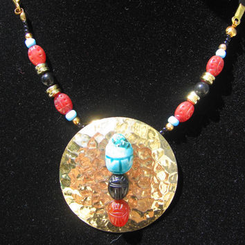 Necklace Scarab of the Sun