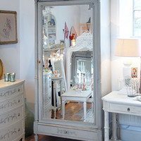 Decorative Country Living ~ Antique French armoire