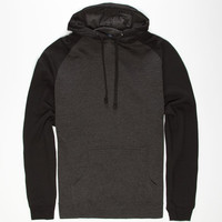 Standard Supply Mens Raglan Pullover Hoodie Black  In Sizes