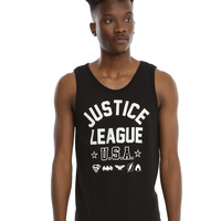 DC Comics Justice League USA Tank Top