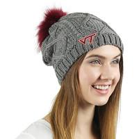 Virginia Tech University Women's Fur Beanie | Virginia Tech University