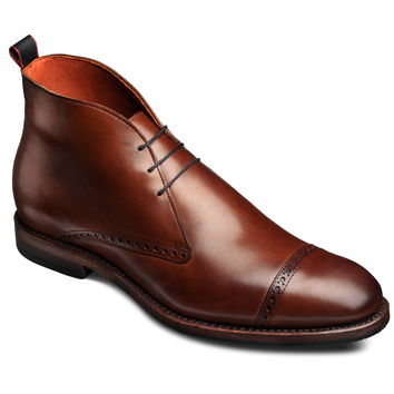 Bleecker Street - Cap-toe Lace-up Men's Dress Boots by Allen Edmonds