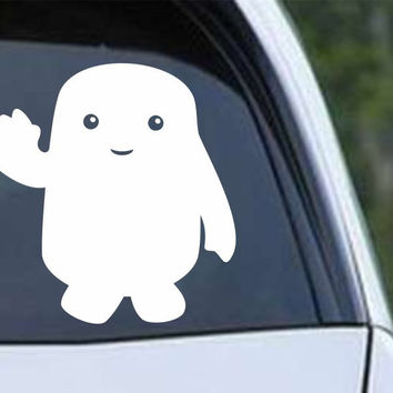 Doctor Who Adipose Die Cut Vinyl Decal Sticker