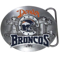 Denver Broncos Team Belt Buckle