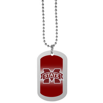 Mississippi St. Bulldogs Team Tag Necklace CTNP45