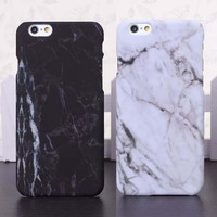 Fashion Phone Cases For iPhone 5 Case Marble Stone image Painted Cover For iphone5 5S 6 6S Plus New Screen Protector + Nice Gift Box