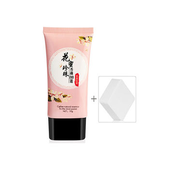 Makeup Nectar BB Cream Whitening Nude Makeup Concealer Isolation Foundation Moisturizing BB Cream 01 NW