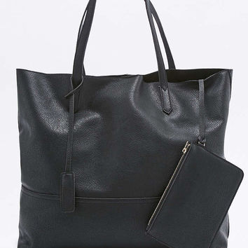 Slouchy Vegan Leather Tote Bag - Urban Outfitters